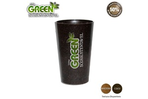 Copo Cancun Green Personalizável 320ml - Fibra