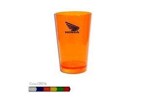 Copo Cancun Cristal Personalizável 320ml - Plástico