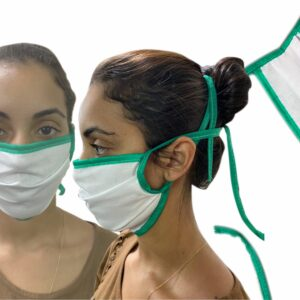 Mascara Tricoline de algodão em BH MG